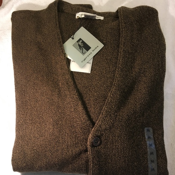 9fec1db04fc36 Cypress Links Men s Cardigan Sweater